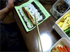 ひな祭り海苔巻き (6)