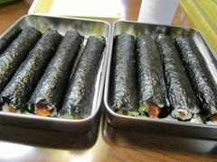 ひな祭り海苔巻き (4)